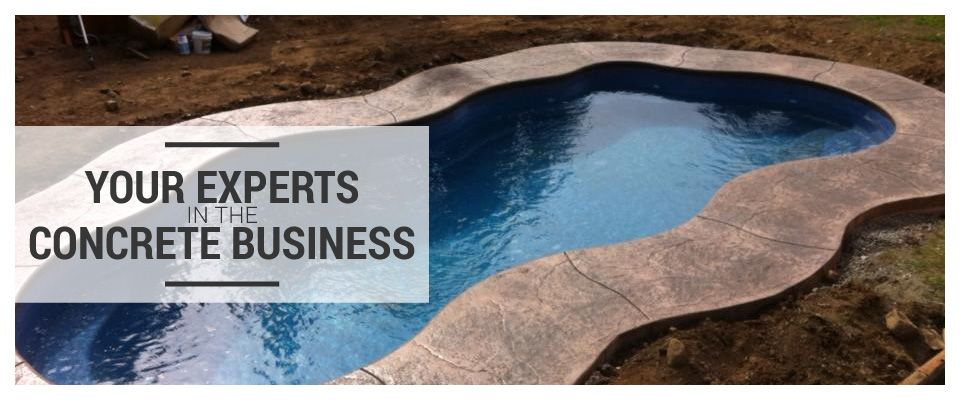 Your Experts in the Concrete Business- Swimming pool