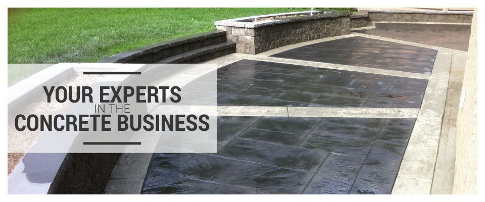 Your Experts in the Concrete Business- Large patio
